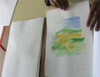 Pinturas em aguarela, Manuela Cristóvão, Universidade de Évora